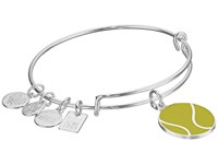 Alex And Ani Team Usa Tennis Bangle Shiny Silver Bracelet Metallic