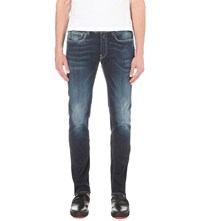 Replay Ronas Slim Fit Tapered Jeans Blue