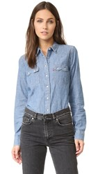 Levi's Modern Sawtooth Shirt Medium Chambray