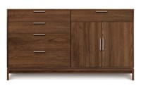 Copeland Furniture Kyoto 4 Drawer On Left 1 Drawer Over 2 Door On Right Buffet