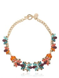 Anton Heunis Flower Motif Necklace