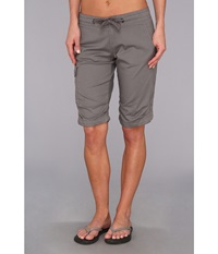 Prana Emma Knicker Gravel Women's Shorts Silver
