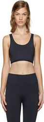 A.P.C. X Outdoor Voices Navy Seamless Bra