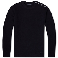 Armor Lux 1901 Fouesnant Mariner Crew Knit Navy