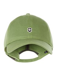 Victorinox Classic Shield Baseball Cap Green