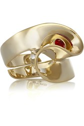 Etro Gold Plated Crystal Ring