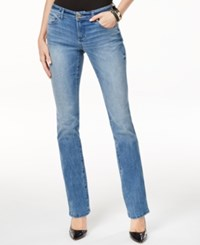 Inc International Concepts Petite Bootcut Monday Wash Jeans Only At Macy's