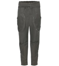 Tom Ford Linen Blend Trousers Green