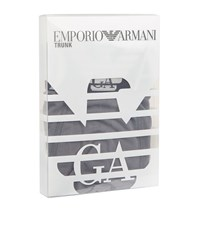 Emporio Armani Wide Logo Trunk Pack Of 1 Male Grey