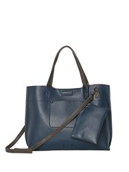 White Stuff Christie Reversible Tote Navy