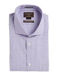 Miscellaneous Checkered Sportshirt Purple