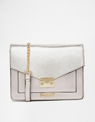 Carvela Metallic Cross Body Bag