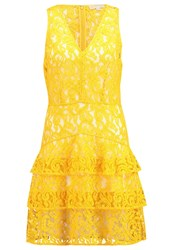 Michael Michael Kors Summer Dress Sunflower Yellow