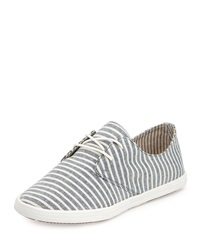 Splendid Solvang Striped Canvas Sneaker Navy
