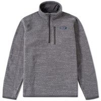 Patagonia Better Sweater 1 4 Zip Jacket Grey