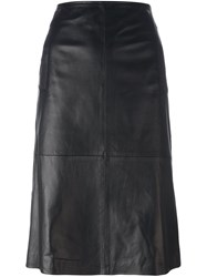 L'autre Chose Midi Skirt Black