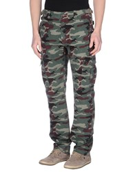 Pepe Jeans 73 Trousers Casual Trousers Men Military Green