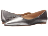 Sam Edelman Ruby Pewter Soft Metallic Sheep Leather Women's Shoes