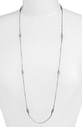 Konstantino 'Kerma' Station Necklace Silver