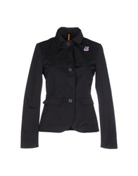 K Way Suits And Jackets Blazers Women Black