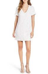 Missguided Women's Lace Shift Dress White