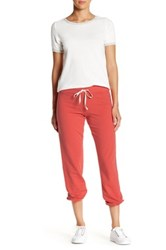 Candc California Kelly Slouch Sweatpant Red
