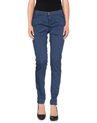 Twin Set Jeans Trousers Casual Trousers Women Blue