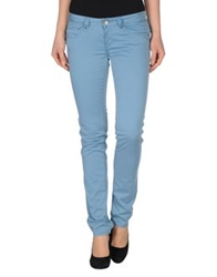 Fracomina Casual Pants Sky Blue