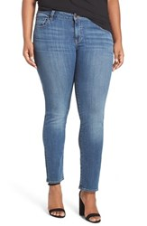Lucky Brand Plus Size Women's 'Ginger' Stretch Straight Leg Jeans