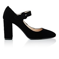 Barneys New York Women's Mary Jane Pumps Black Blue Black Blue