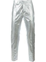 Diesel Black Gold Metallic Effect Trousers