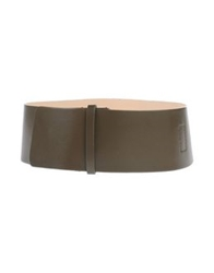 Hotel Particulier Belts Military Green