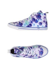 Guess High Tops And Trainers Light Purple