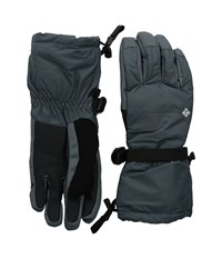 Columbia Whirlibird Ski Glove Graphite Extreme Cold Weather Gloves Gray