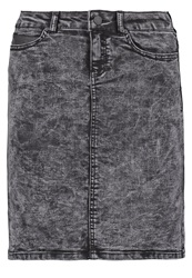 Noisy May Nmlucy Denim Skirt Black