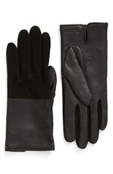 Rag And Bone Women's 'Division' Lambskin Gloves With Alpaca Lining