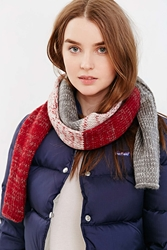 Bickley Mitchell Colorblock Scarf Berry