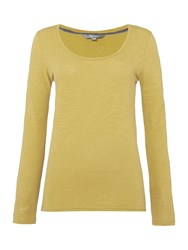 Lily And Me Jersey Layering Tee Yellow