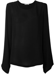 Barena Scoop Neck Blouse Black