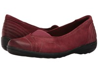 Rockport Cobb Hill Lizzie Red Women's Slip On Shoes