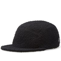 Larose Paris Casentino Wool 5 Panel Cap Black