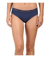 Exofficio Give N Go Lacy Bikini Brief Indigo Women's Underwear Blue