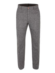 Gibson Men's Grey Donegal Fleck Trouser Grey