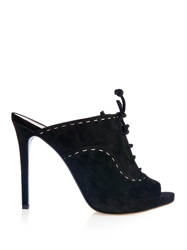 Tabitha Simmons Moscow Suede Mules