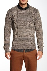 Yoki Cable Knit Sweater Beige