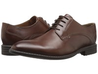 Bostonian Garvan Plain Mahogany Leather Men's Plain Toe Shoes