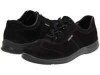 Mephisto Laser Black Nubuck Women's Lace Up Casual Shoes