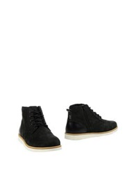 Clae Ankle Boots Black