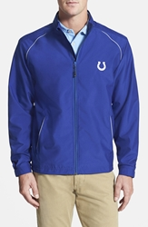 Cutter And Buck 'Indianapolis Colts Beacon' Weathertec Wind And Water Resistant Jacket Tour Blue