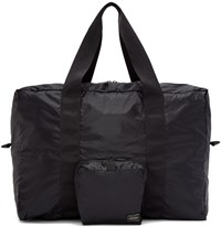 Porter Black Packable Boston Bag
